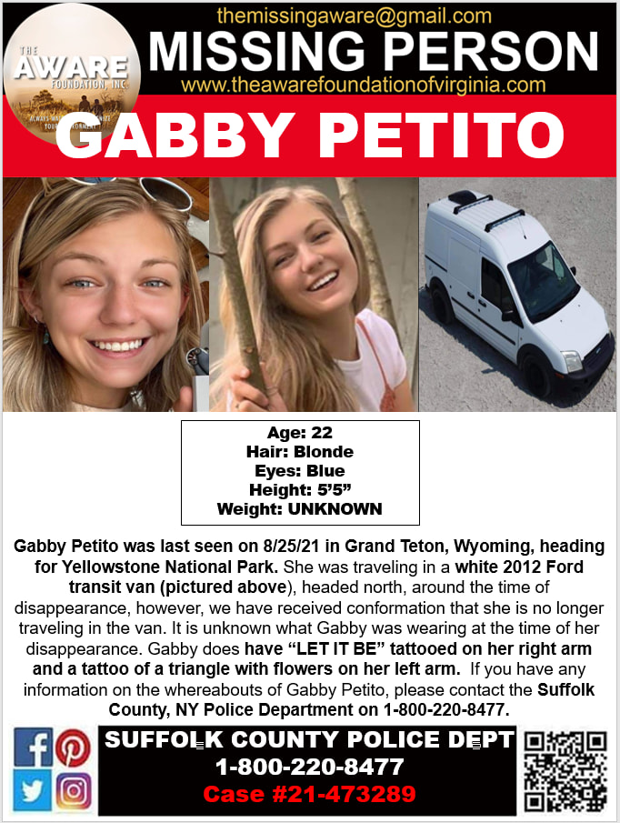 Who is Gabby Petito? 22 Years Old Missing Girl Update